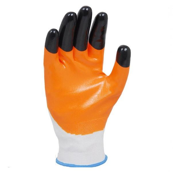Перчатки Долони 4564 нитриловые с дополнительным обливом пальцев, фото 1