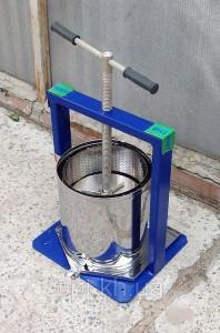 Пресс для отжима сока 10 литров (Вилен, Винница)