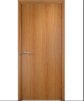 Дверь межкомнатная Глухая гладкая ПВХ Омис