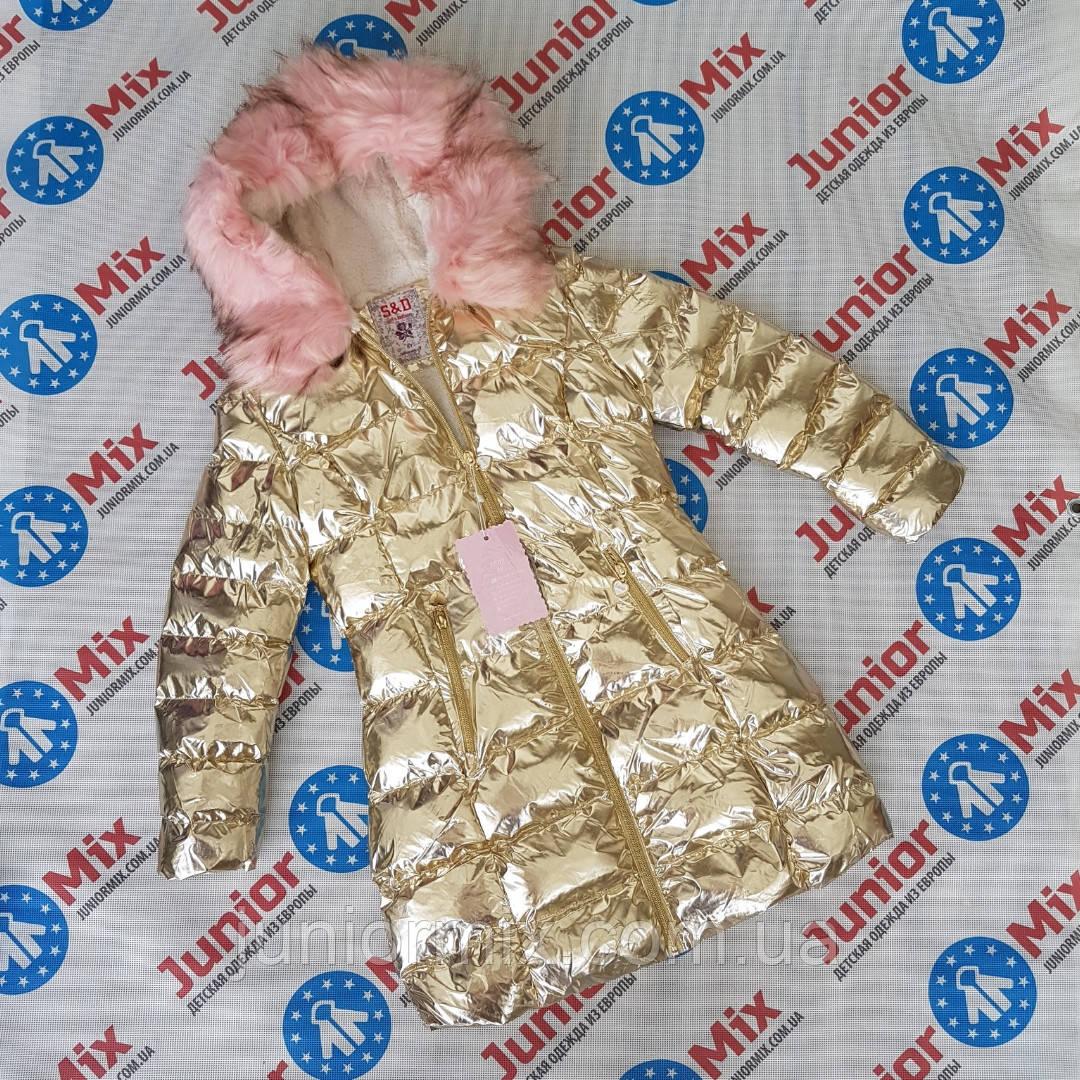 Дитяча модна стильна куртка для дівчаток оптом SD