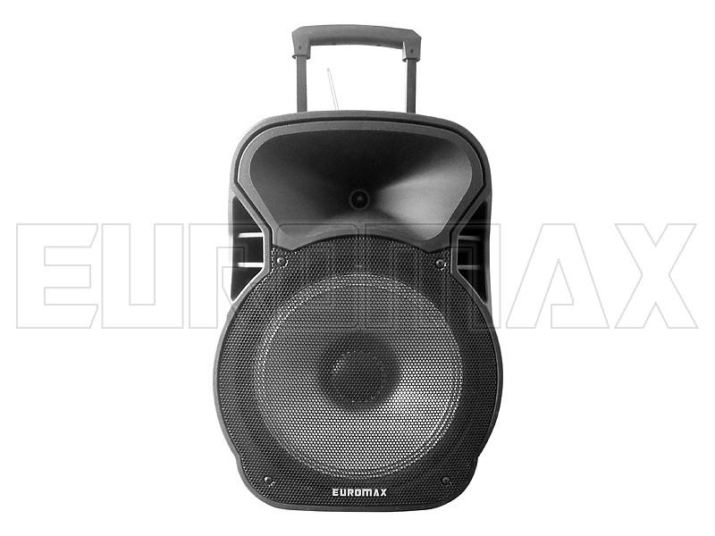 Акустическая переносная колонка EUROMAX 55х37х31см 12 дюймов 60Вт USB/SD/FM/BT/MIC EU-1205