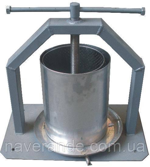 Пресс для сока из нержавейки 10 литров (Харьков)