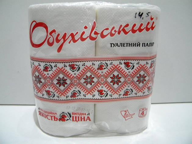 "Туалетная бумага ""Обуховская"" 4-шт., фото 2"