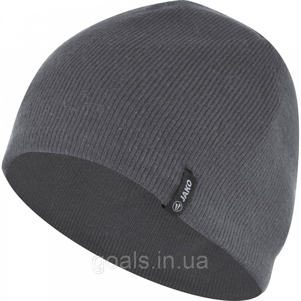 Knitted hat (grey/melange)