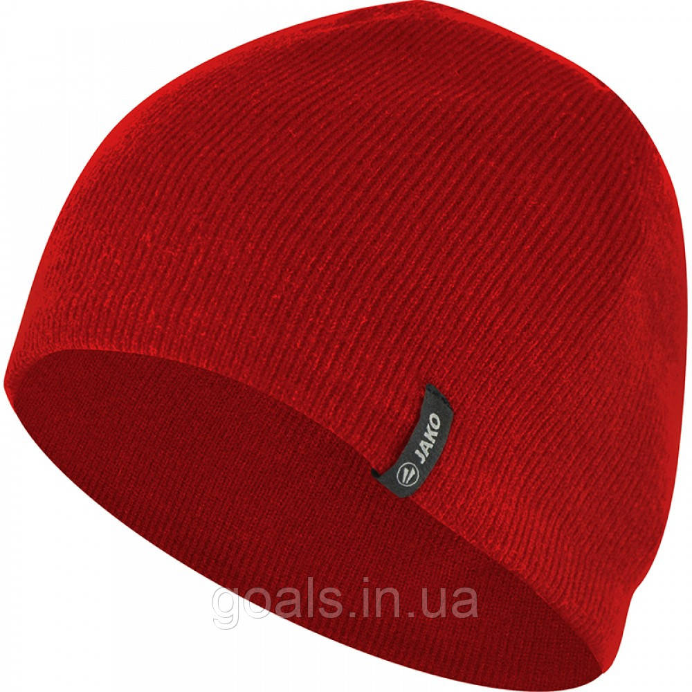 Knitted hat (red)