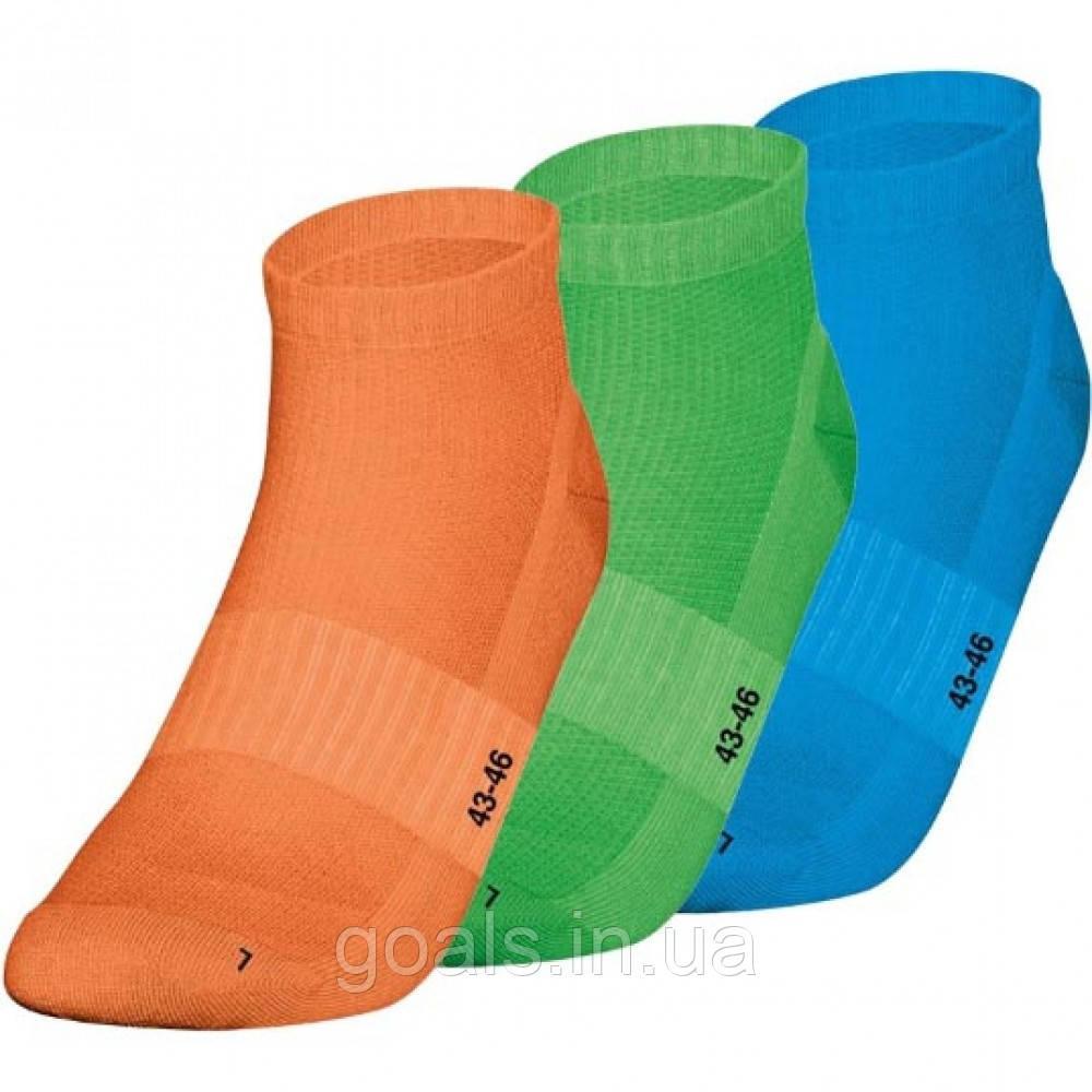 Sock liners 3-pack (orange/soft green/JAKO blue)