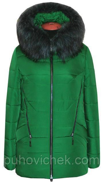 Молодежная женская куртка зимняя от производителя