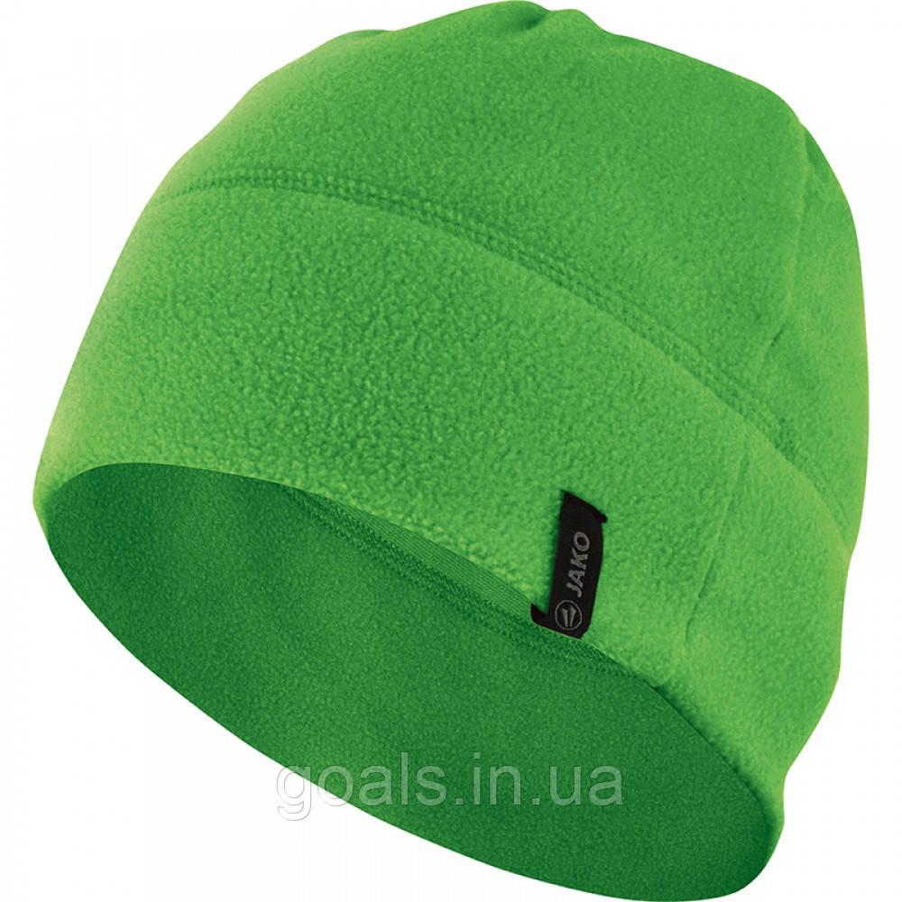 Fleece beanie (soft green)