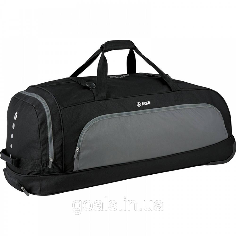 Дорожная сумка на колесах (black/grey)