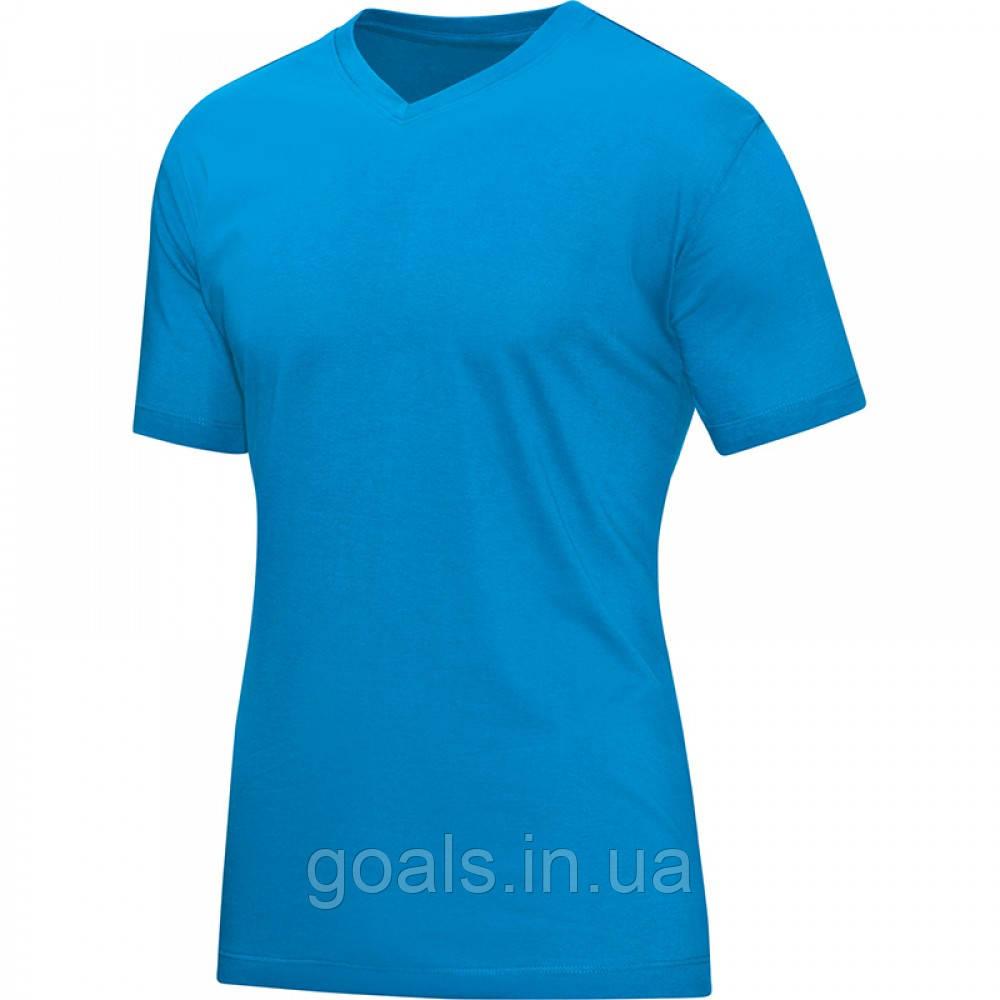 T-Shirt V-Neck (JAKO blue)