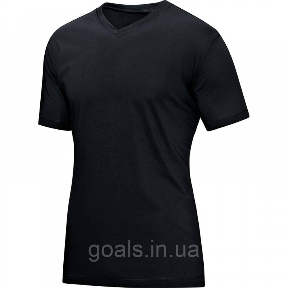 T-Shirt V-Neck (black)