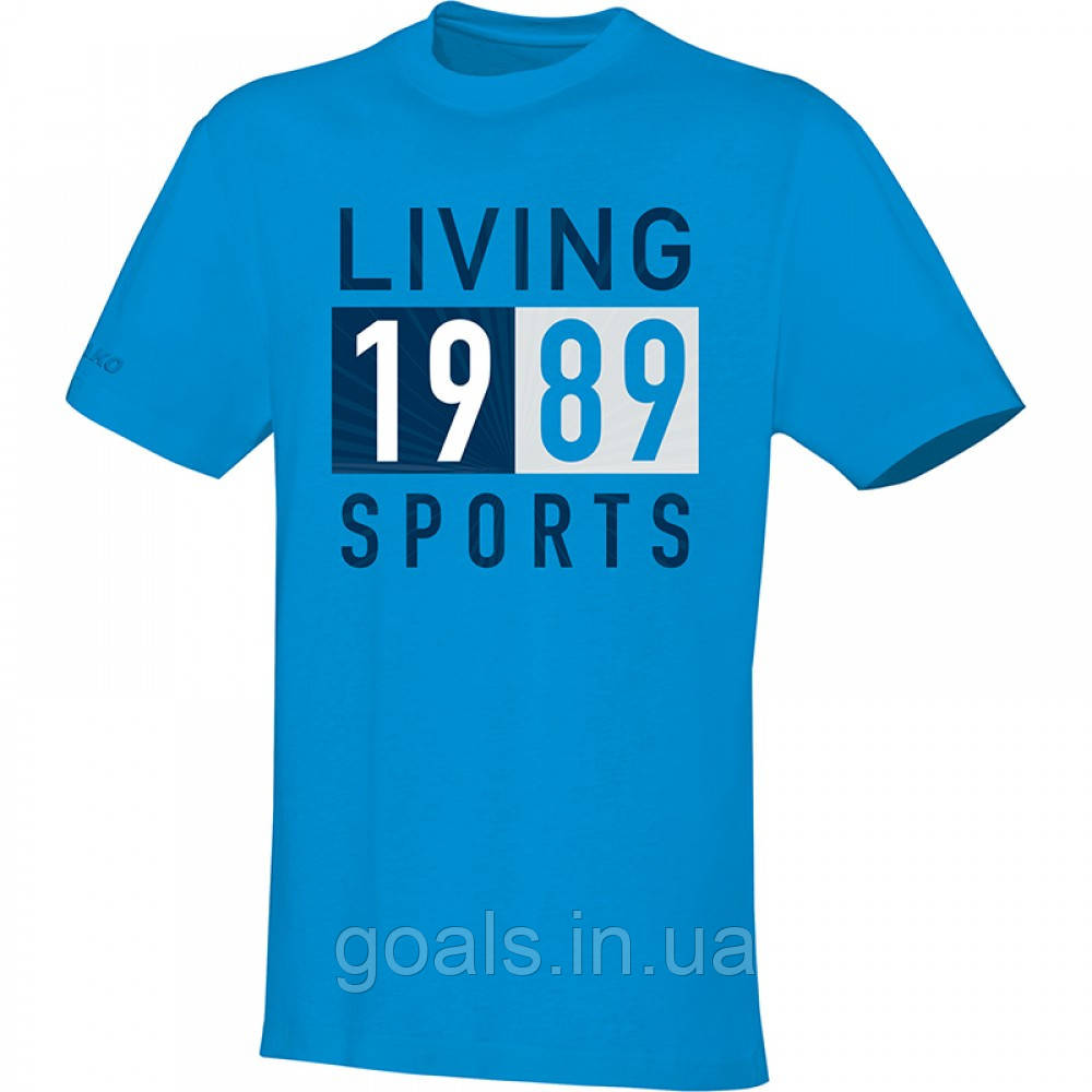 T-Shirt Living Sports (JAKO blue)