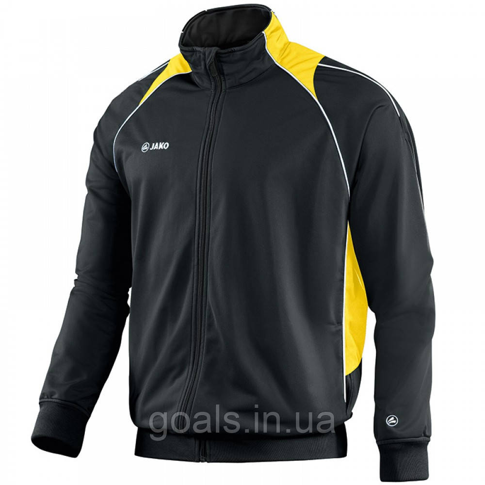 Polyester jacket Attack 2.0 (black/neon yellow)