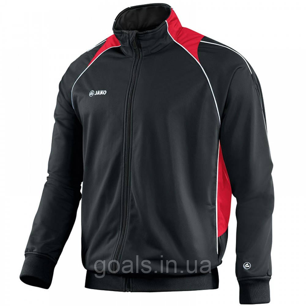 Polyester jacket Attack 2.0 (black/red)