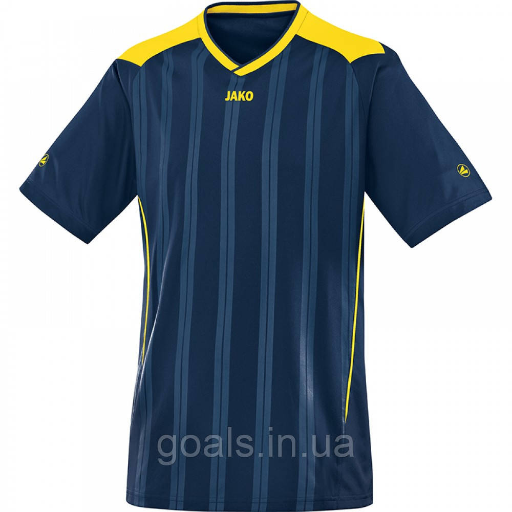 Футболка футбольная Cup (navy/lemon)