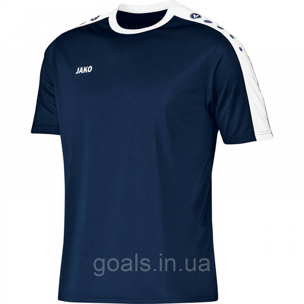 Футболка футбольная Striker  (navy/white)