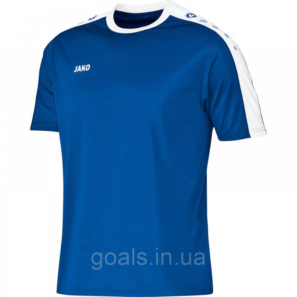 Футболка футбольная Striker  (royal/white)