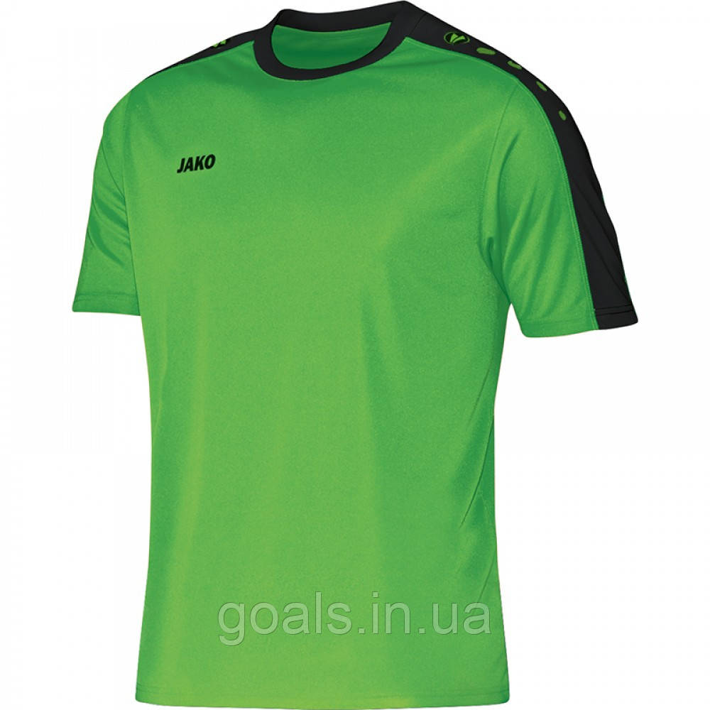 Футболка футбольная Striker  (soft green/black)
