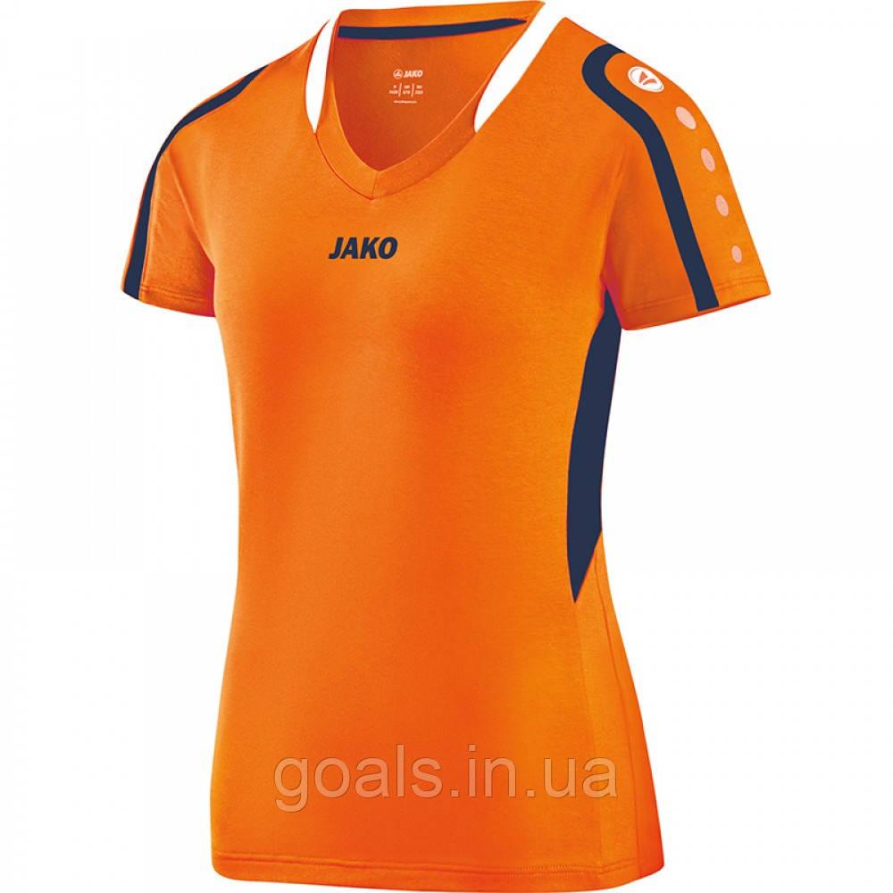 Jersey Block women (neon orange/navy/white)