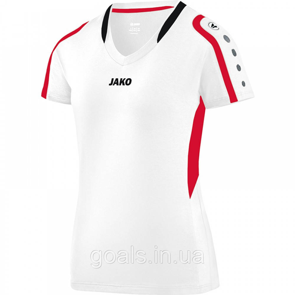 Jersey Block women (white/red/black)