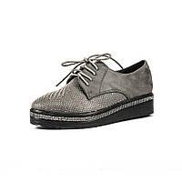 Туфли женские Sopra AL6401-A1 серые