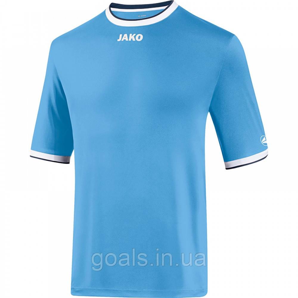 Футбольная футболка United (sky blue/white/navy)