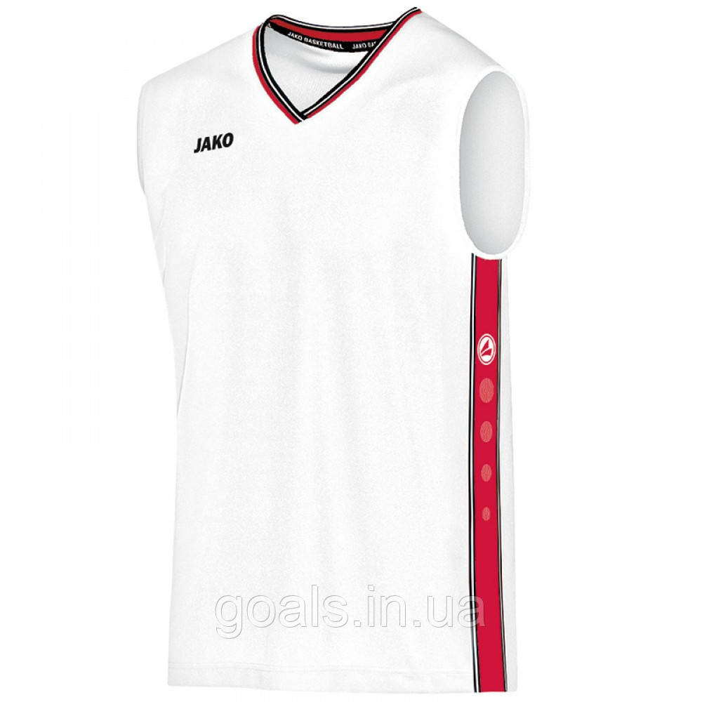 Jersey Center (white/red)