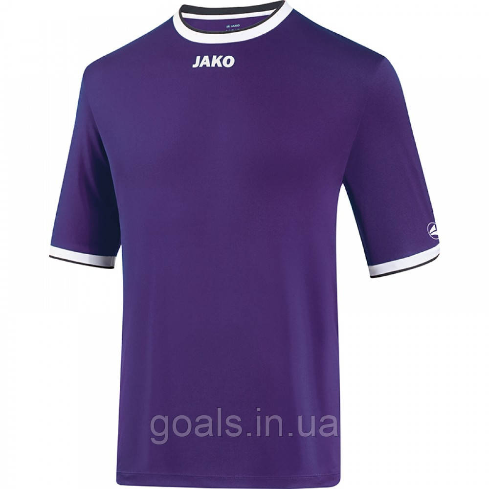 Футбольная футболка United  (purple/white/black)