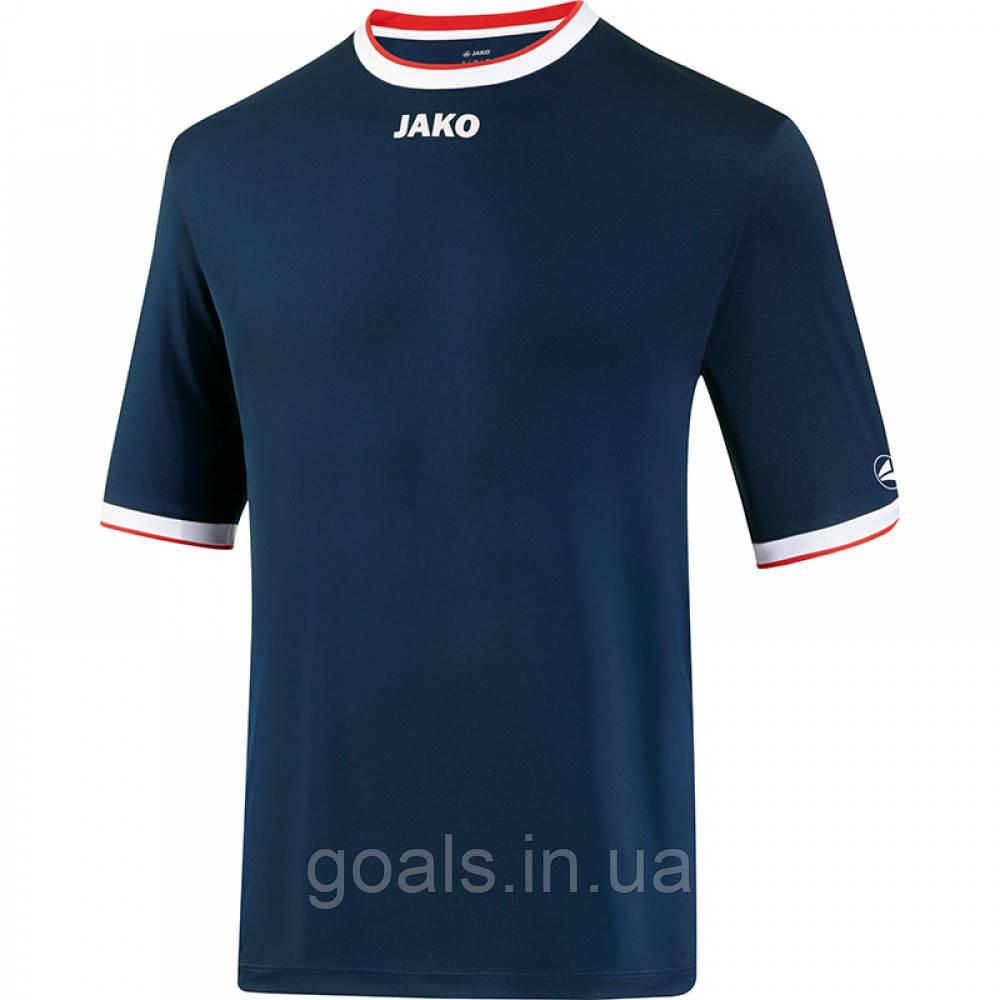 Футбольная футболка United  (navy/white/red)