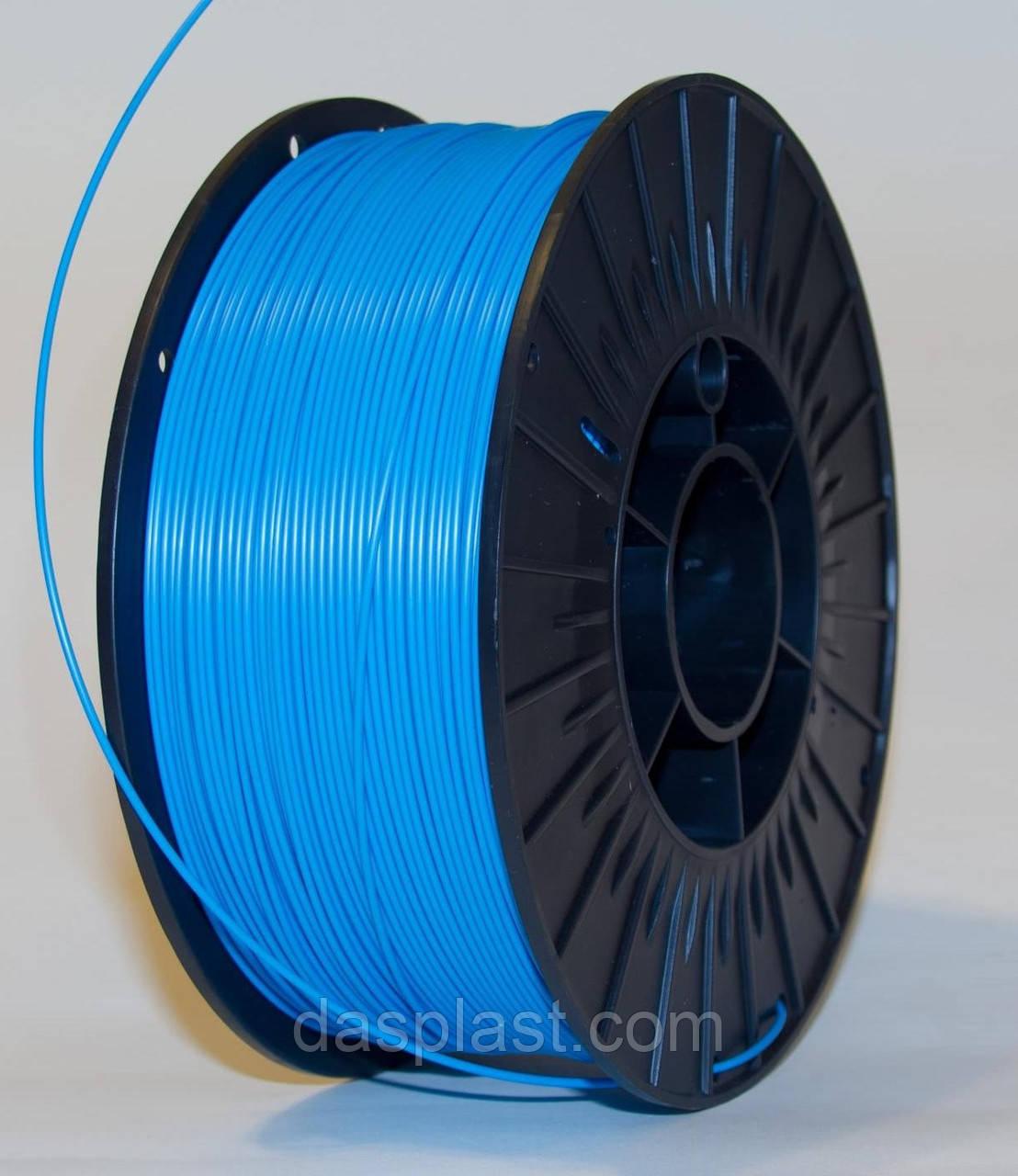 АБС пластик  1 кг голубой 1.75мм  для 3d принтеров и ручек