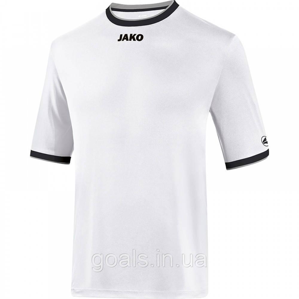 Футбольная футболка United (white/black/grey)