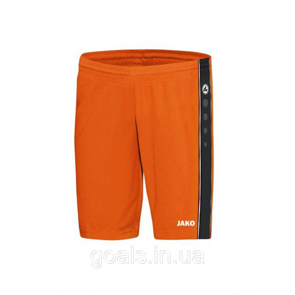 Shorts Center (neon orange/black)