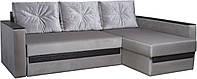 Угловой диван Гранд 2 с мдф накладками