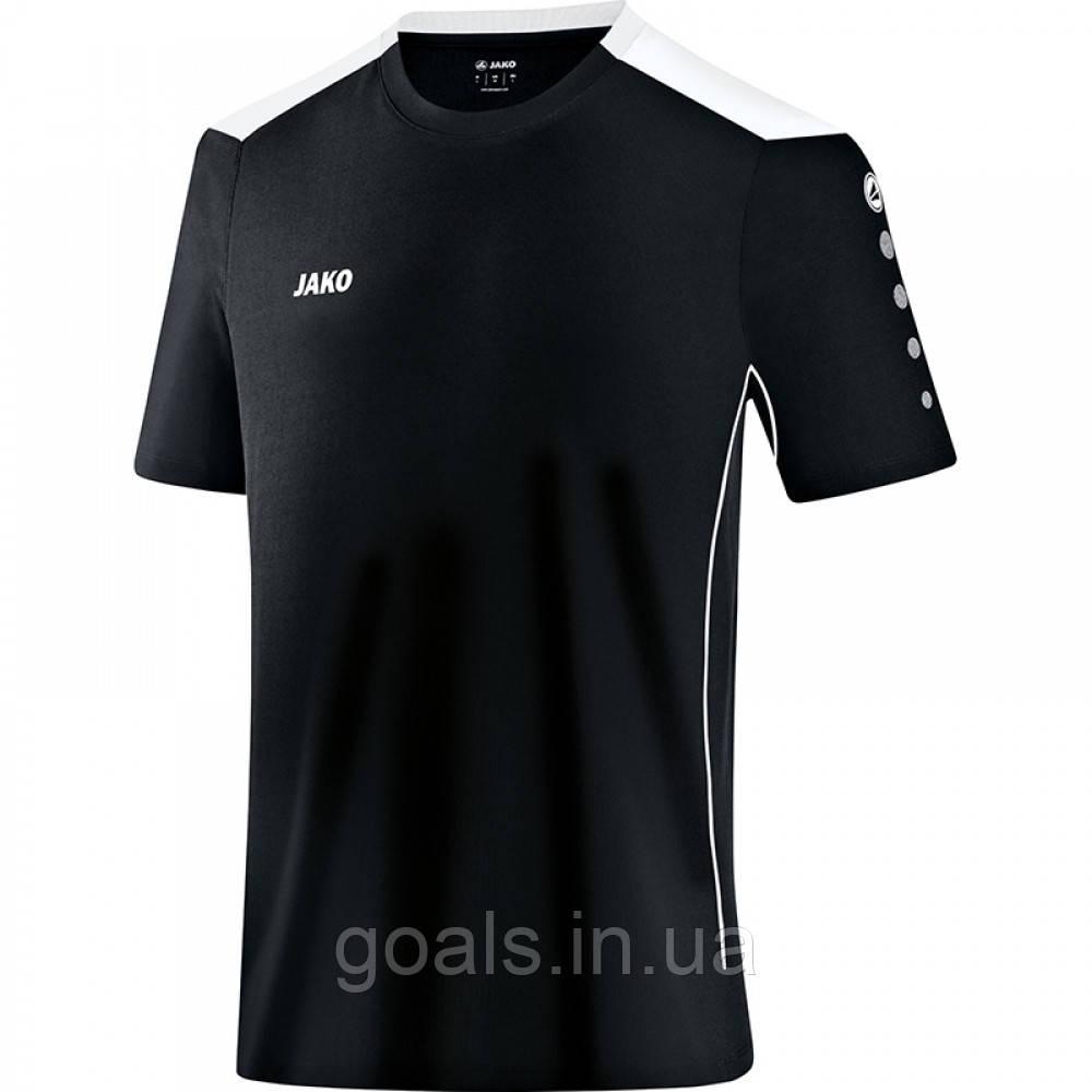 Футболка футбольная Cup (black/white)