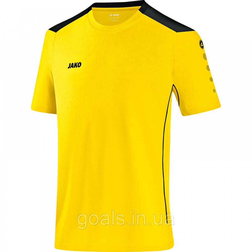 Футболка футбольная Cup (citro/black)