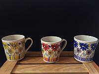 Чашка с цветами в ассортименте