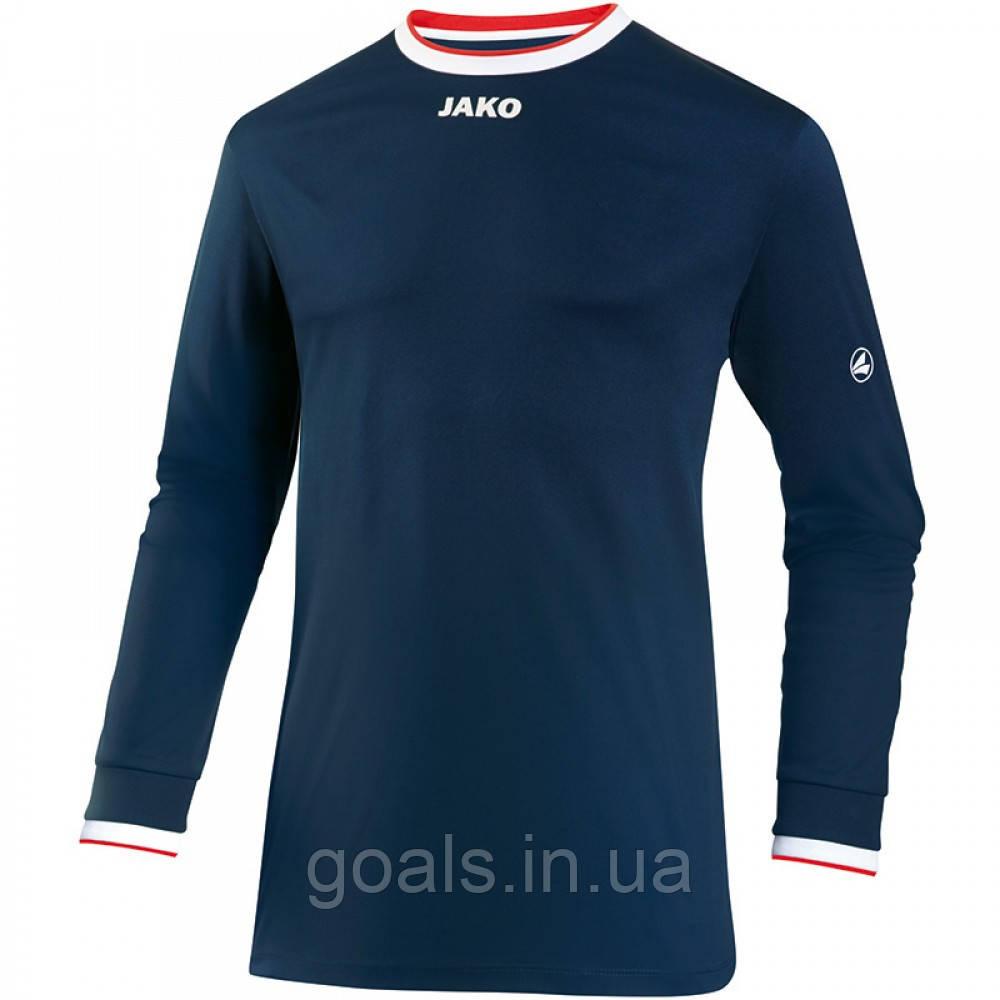Футболка футбольная с длинным рукавом Jersey United L/S (navy/white/red)