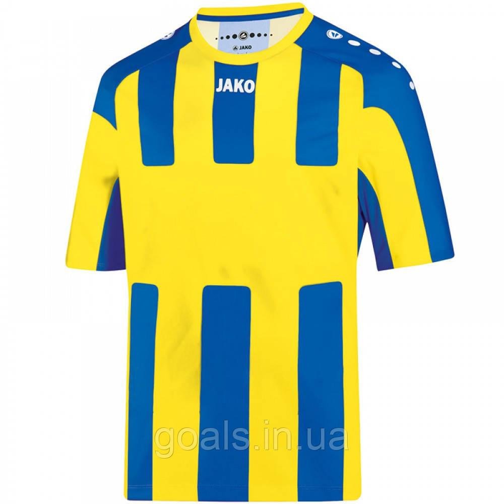 Футболка футбольная Milan (citro/royal)