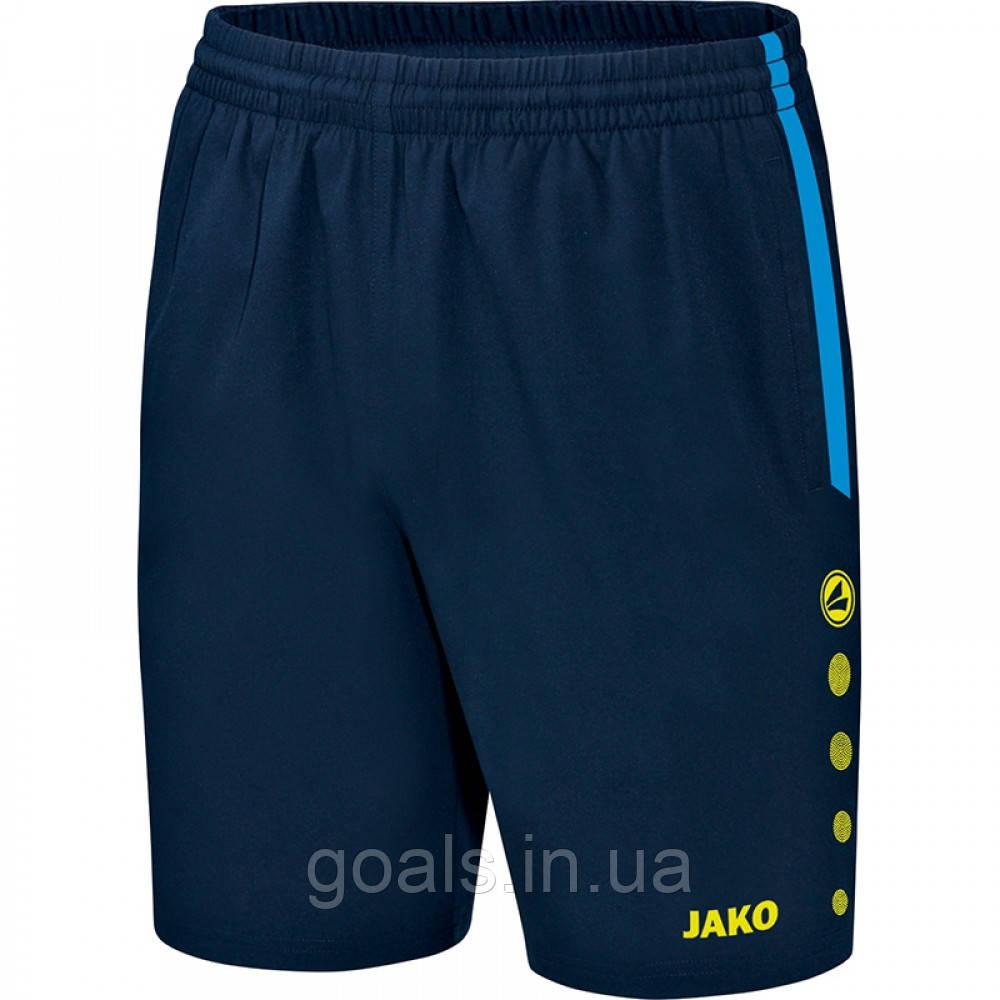 Шорты Champ (JAKO blue/navy/neon yellow)