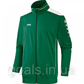 Полиэстеровая куртка CUP (green/white)