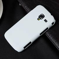 Бампер для смартфона Samsung i8160 белый