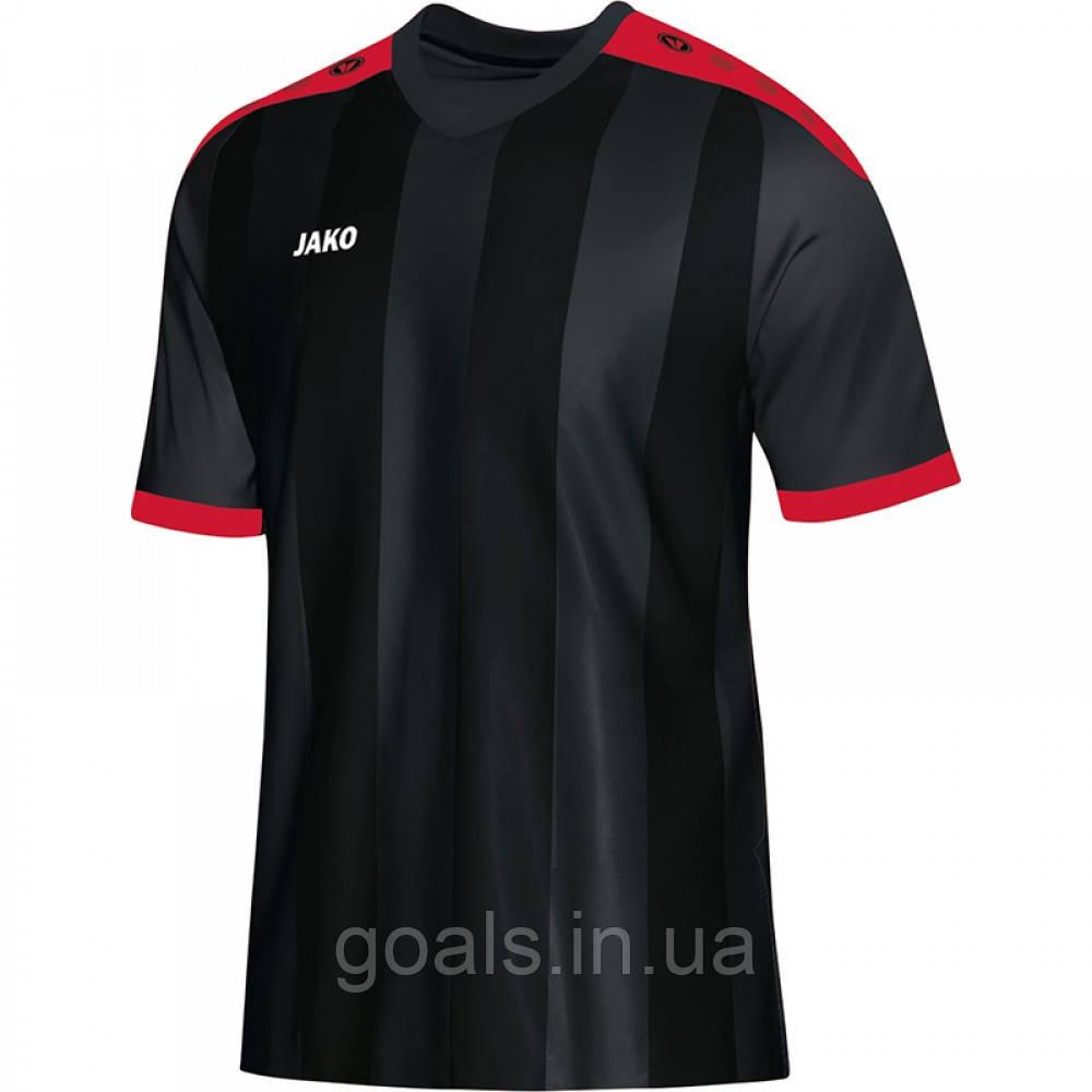 Футболка футбольная Porto (black/red)