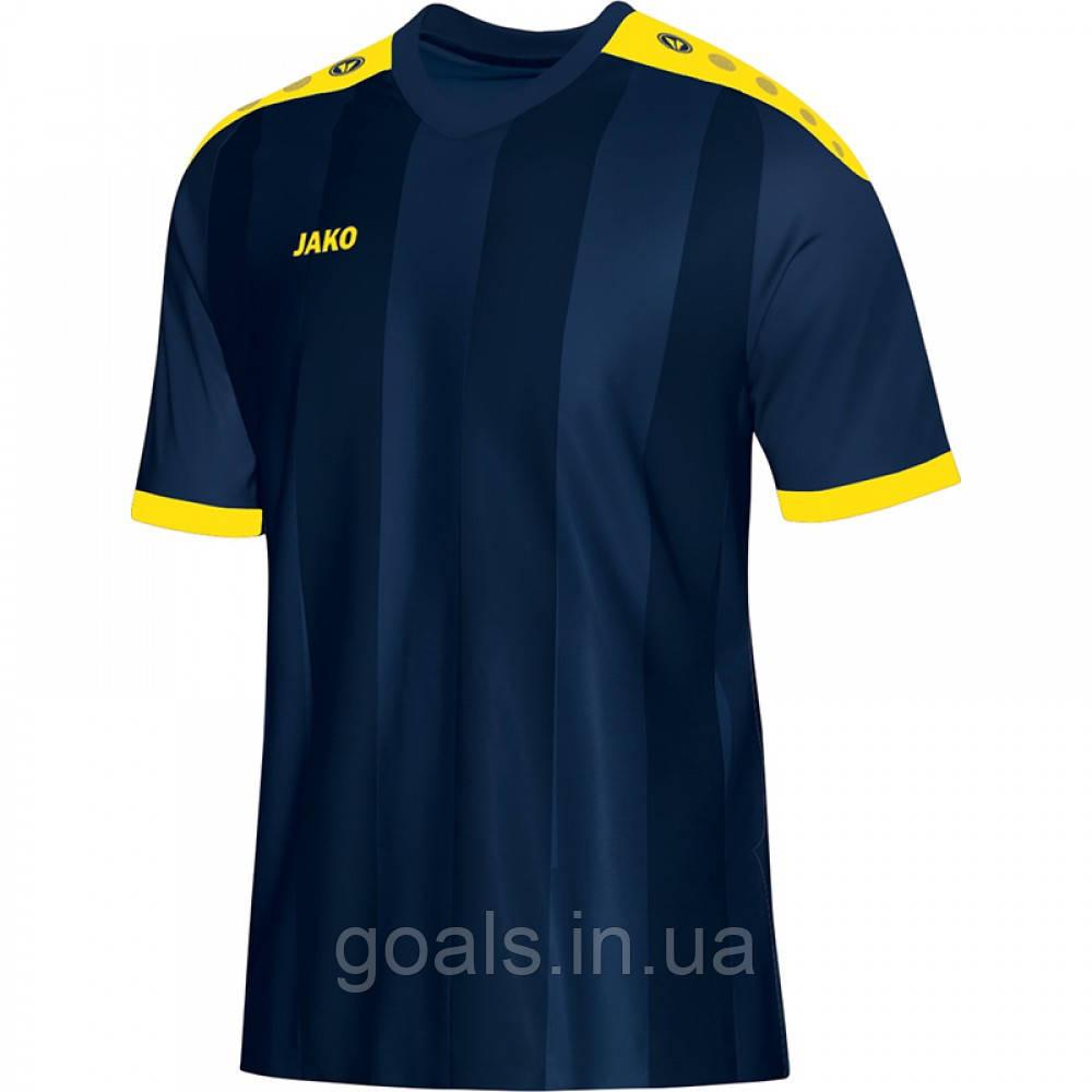 Футболка футбольная Porto (navy/citro)