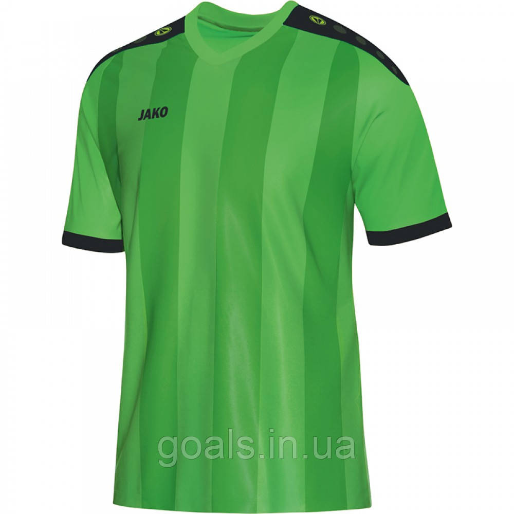 Футболка футбольная Porto (soft green/black)