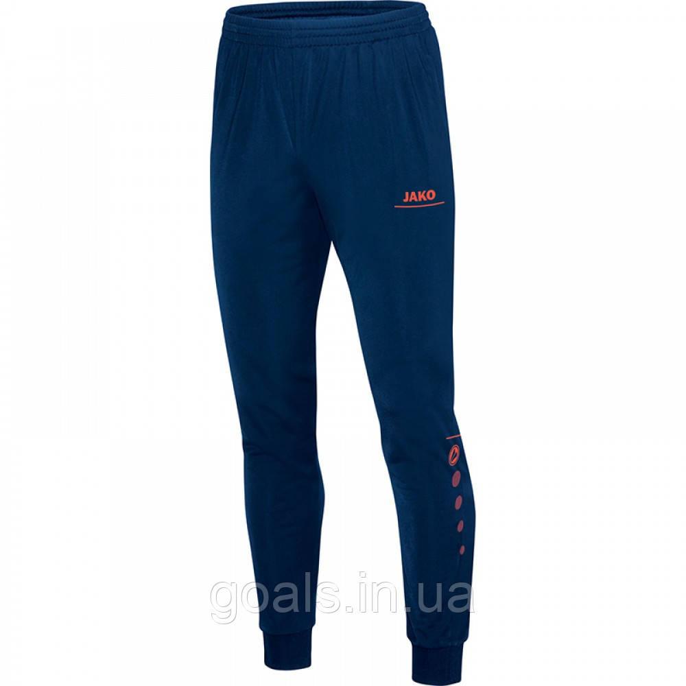 Полиэстеровые штаны Striker (night blue/flame)