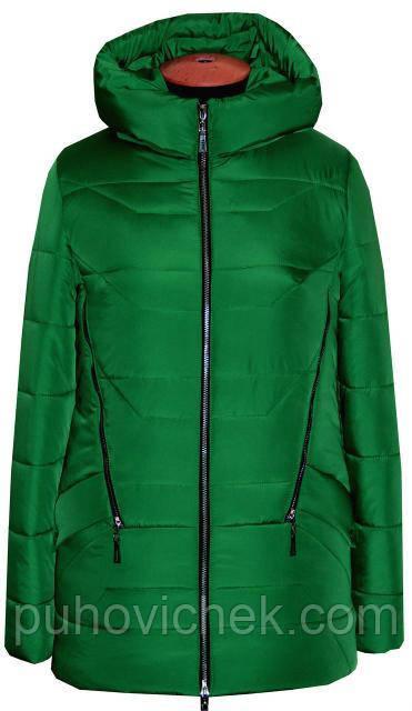 Зимняя женская куртка стильная Украина