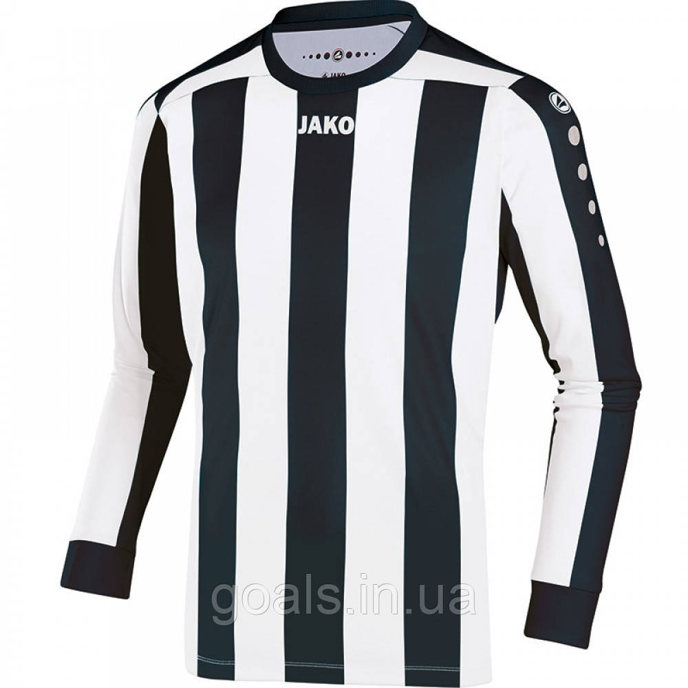 Футболка футбольная с длинным рукавом Jersey Inter L/S (black/white)