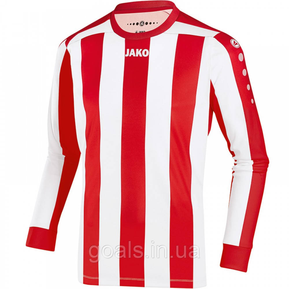 Футболка футбольная с длинным рукавом Jersey Inter L/S (red/white)