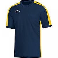 Футболка гандбольная Striker  (navy/yellow)