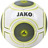 """Футбольный мяч """"JAKO""""  (white/anthracite/lime)"""